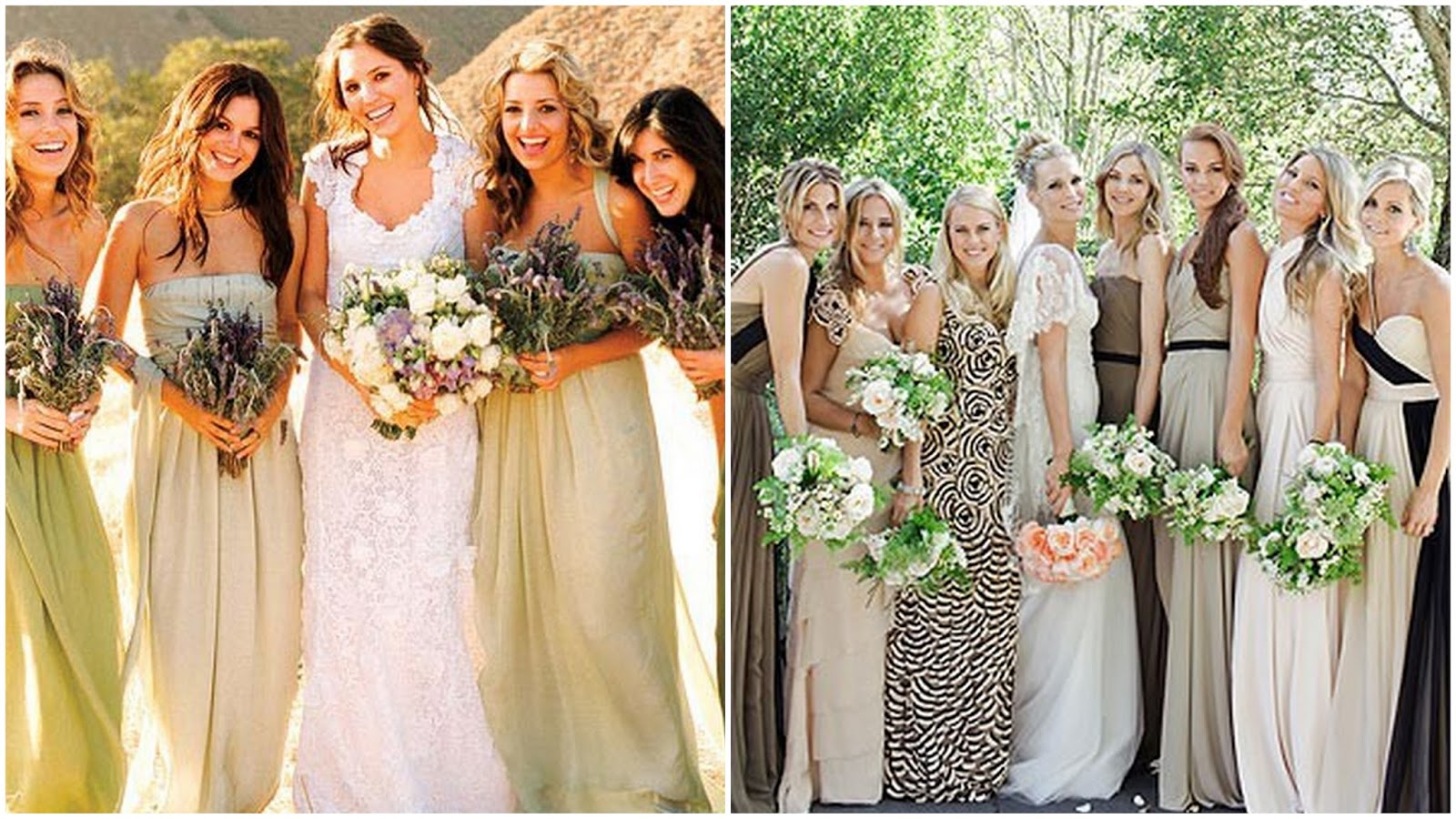Coolingerie how to make a perfect work of mismatched bridesmaid coolingerie ombrellifo Images