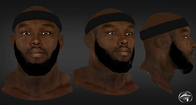 NBA 2K13 Reggie Evans Cyberface Patch Mod