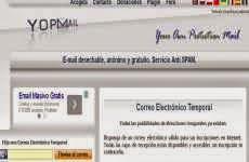 Yopmail: para crear cuentas de e-mail desechables, anónimas, y gratuitas