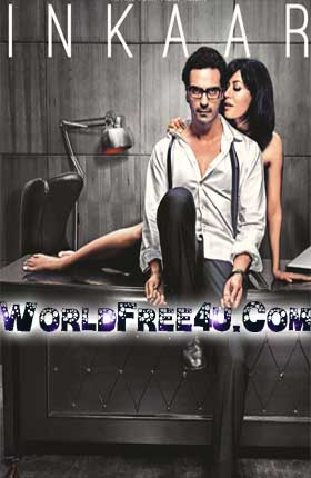 Poster Of Bollywood Movie Inkaar (2013) 300MB Compressed Small Size Pc Movie Free Download worldfree4u.com