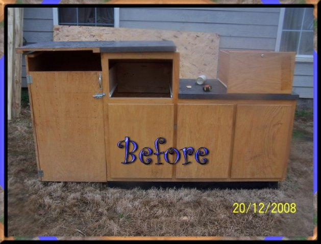 Cool coops recycled counter coop community chickens for Kitchen cabinets made from recycled materials