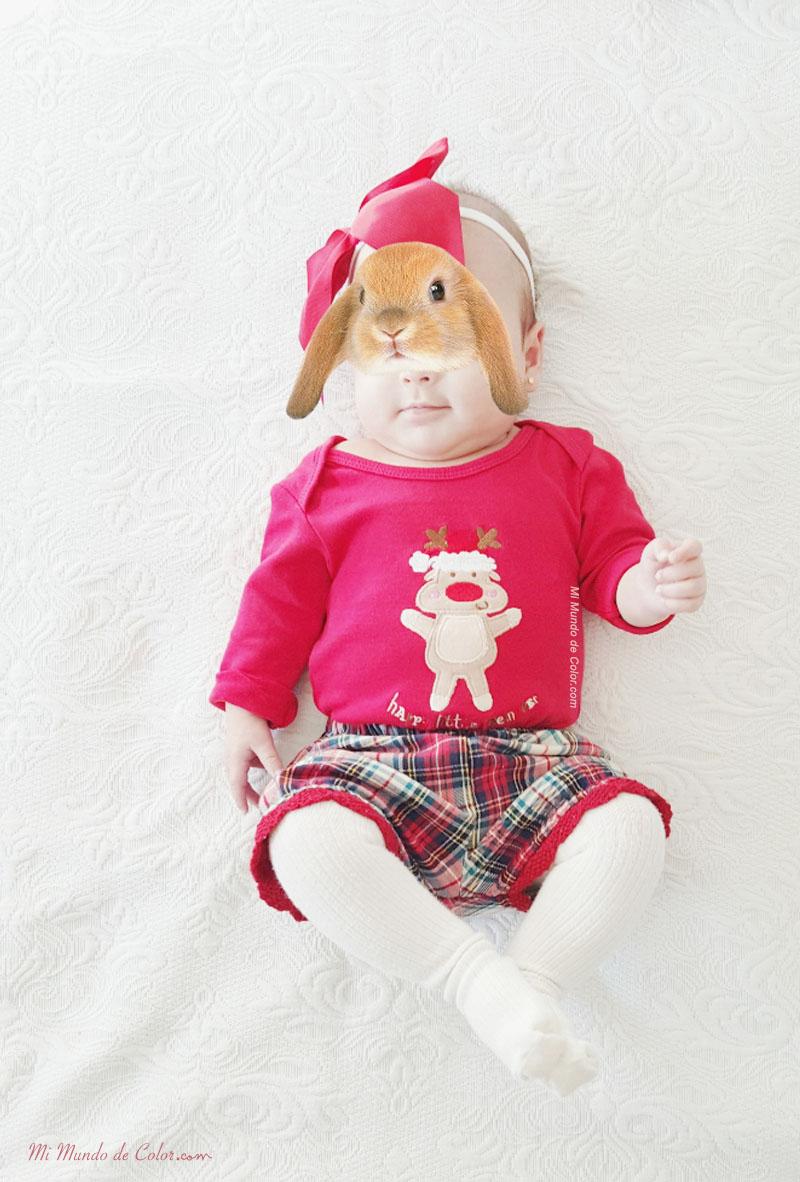 el look de mi bebe en navidad bebé blogger