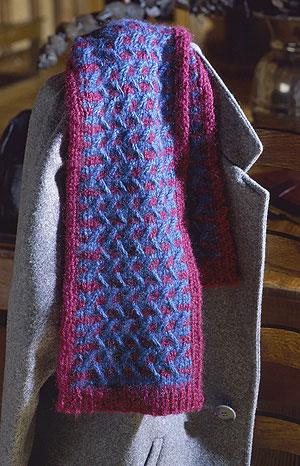 pattern scarf
