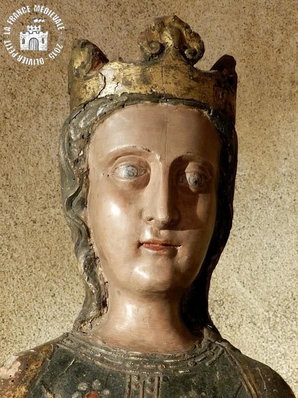 BROUILLA (66) - Vierge à l'Enfant (XIVe siècle)