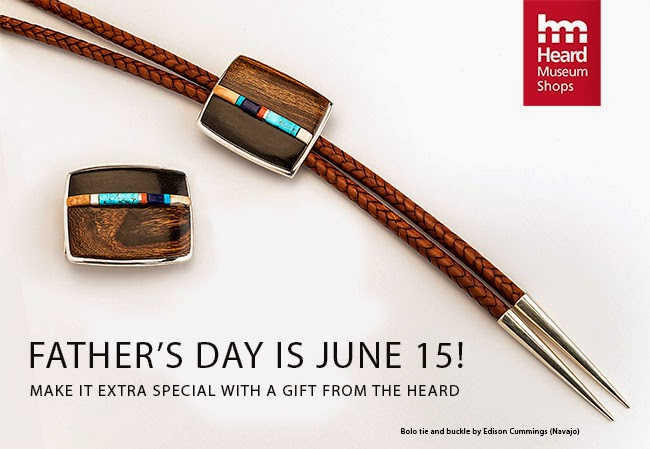 Heard Museum Shop News: Father's Day is June 15!