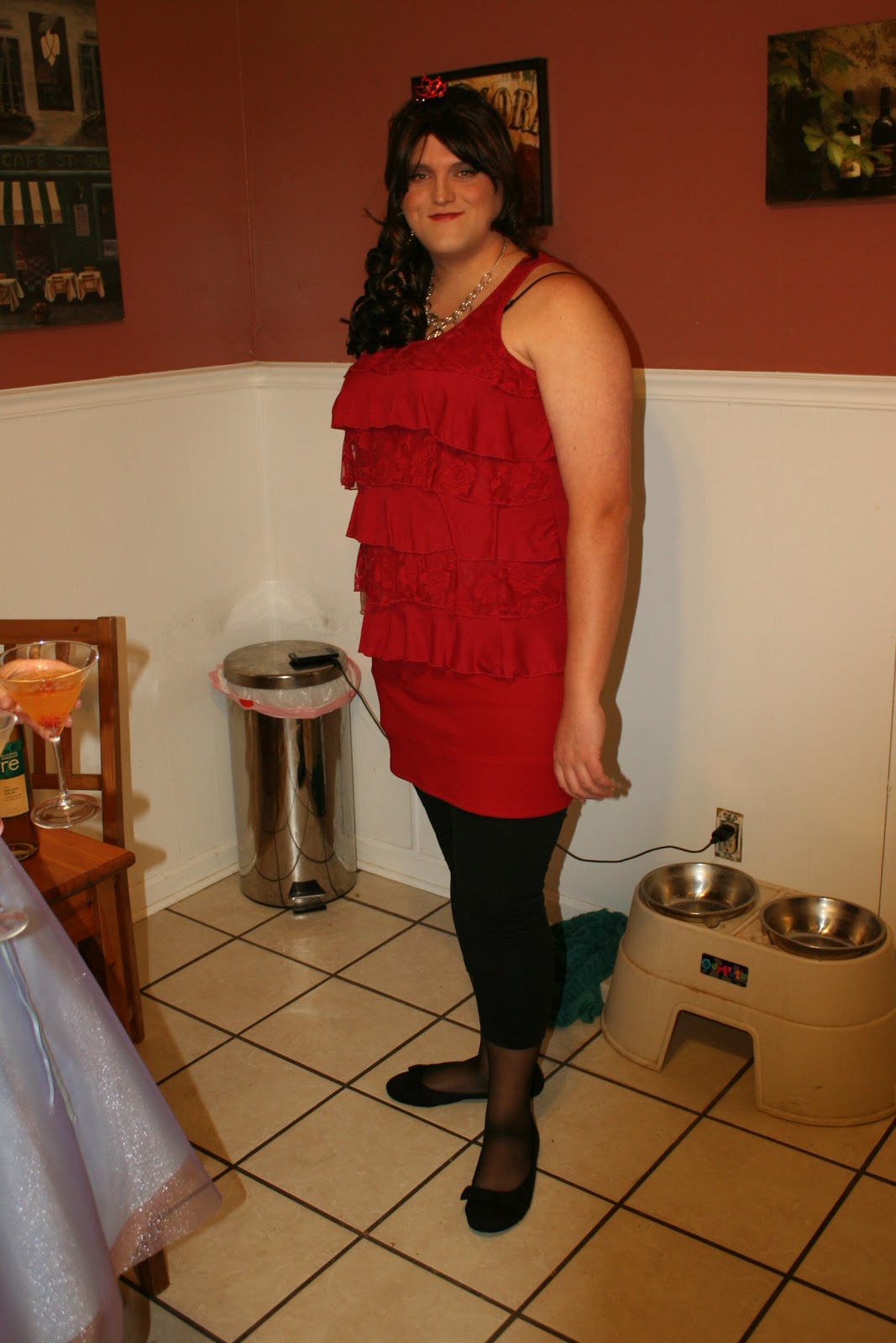 image Straight transvestite halloween pumpkin sextoy sounding urethral 33