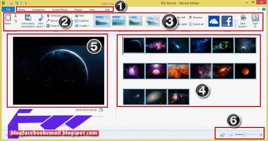( Tutorial Movie Maker )Cara Menggunakan Movie Maker di ...