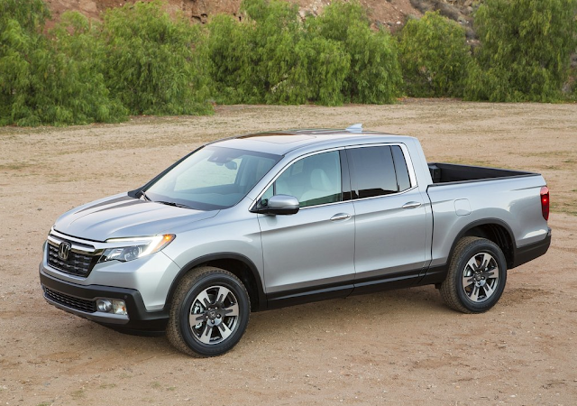 Second-gen 2017 Honda Ridgeline