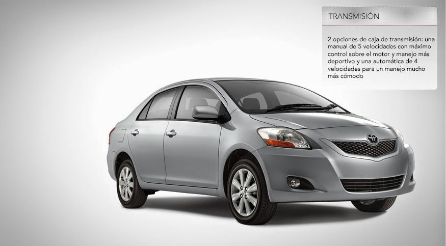 Transmisión Toyota Yaris