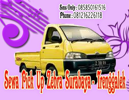 Sewa Pick Up Zebra Surabaya - Trenggalek
