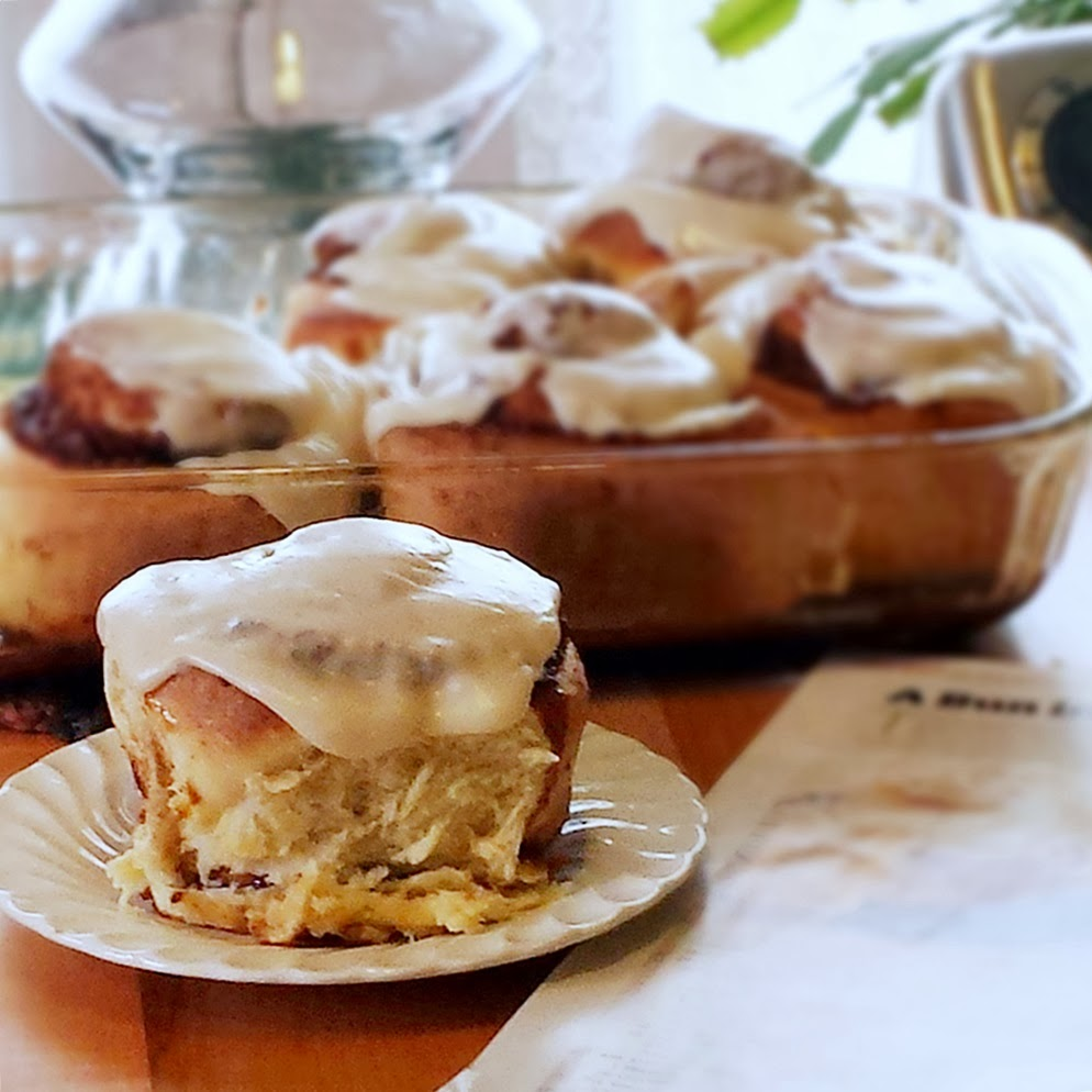 ... – in other words, a Big, Fat, Delicious Clone of a Cinnabon