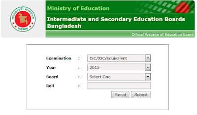 SSC Exam Result 2015 Bangladesh Education Boards
