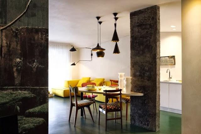 Mid-Century Design in farbenfroher Gestaltung - typisch französisch!