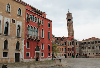torre inclinada venecia campanario san esteban campo san stefano