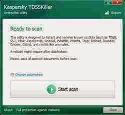 Download Anti-rootkit utility TDSSKiller Terbaru
