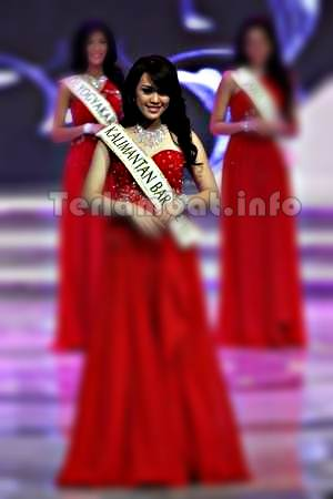 Pemenang Miss Indonesia 2013 Vania Larissa