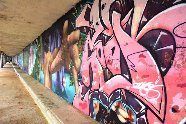 Graffiti St. Julians galery