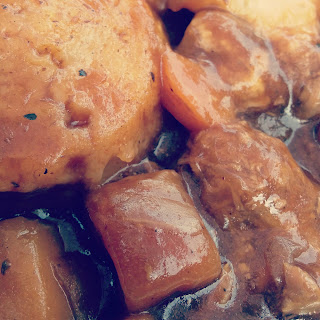 Dumplings and Beef Casserole