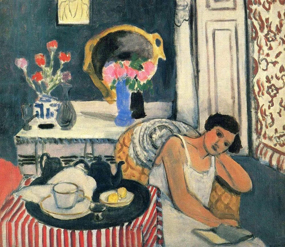 Henri Matisse - Woman reading