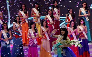 Foto Vania Larissa Miss Indonesia 2013
