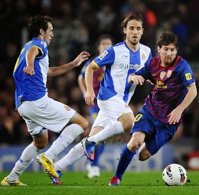 Babak Pertama, Barcelona vs Espanyol 0-0