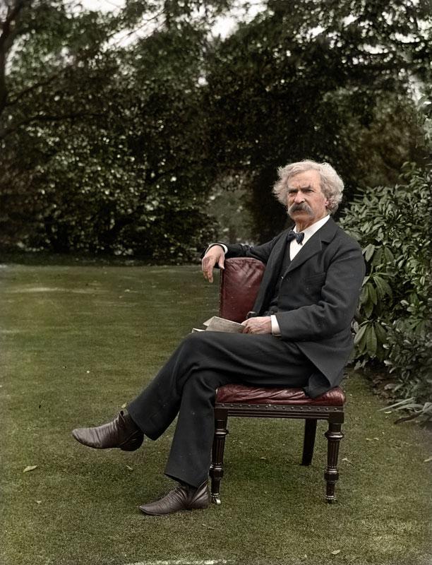 Mark Twain en 1900