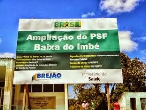 Amplição do PSF Imbé