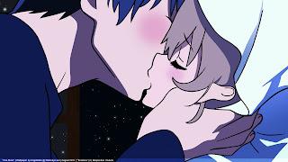 Taiga Aisaka Ryūuji Takasu Toradora Kissing Anime HD Wallpaper Desktop PC Background 1773