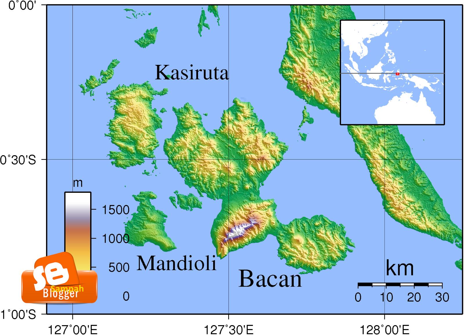 Mengenal Pulau Bacan Sebagai Sentra Batu Bacan di Indonesia