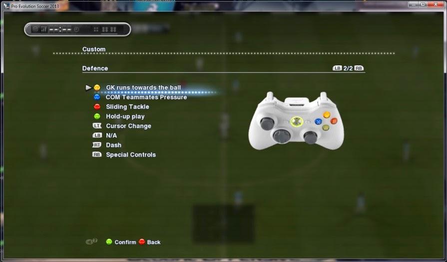 Pengaturan USB Stick (Controlller) PES 2013 di PC
