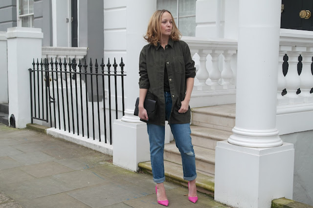 Khaki and Pink by What Laura did Next