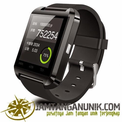 u smart watch u8 jam tangan canggih yang bisa dikoneksikan dengan bluetooth android ios