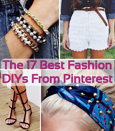 The 17 Best DIY Fashion Ideas