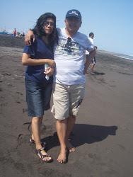 broer van theresia met zijn vrouw