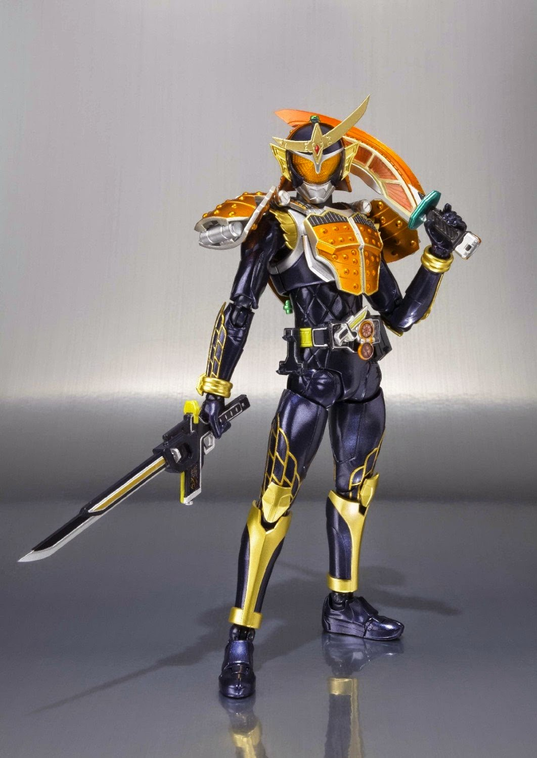 Action Figure Kamen Rider Gaim Orange Arms Asli BANDAI
