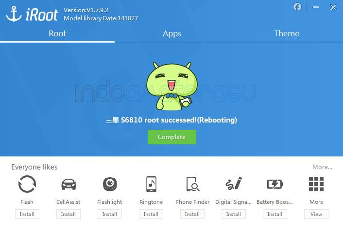 iRoot ~ Aplikasi Root Semua Jenis Ponsel Android 3