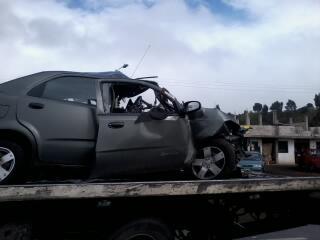 Accidente Riobamba Ambato