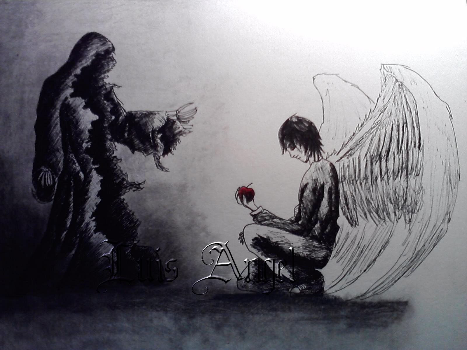 el angel de la muerte   We Heart It