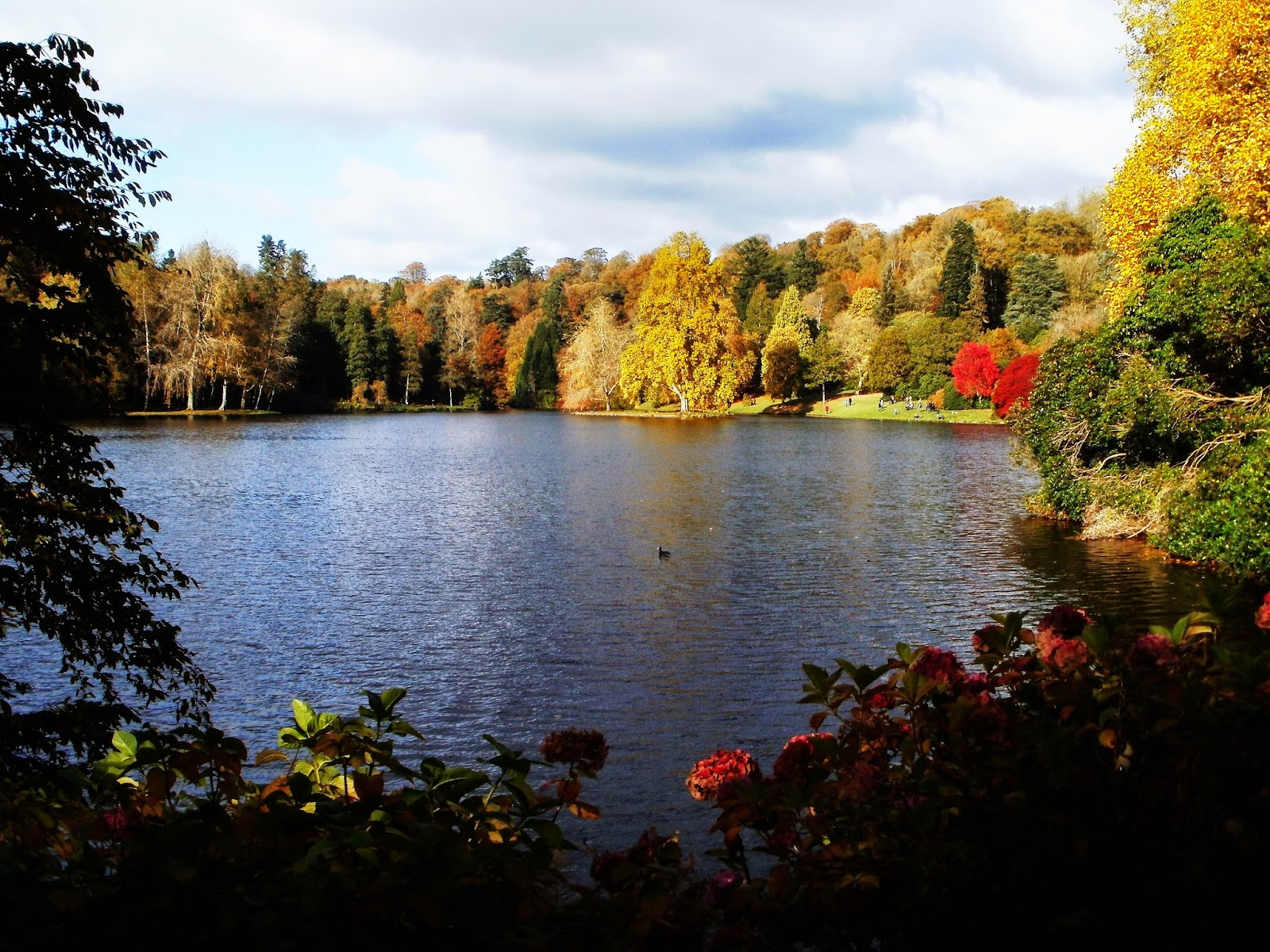 autumn Stourhead