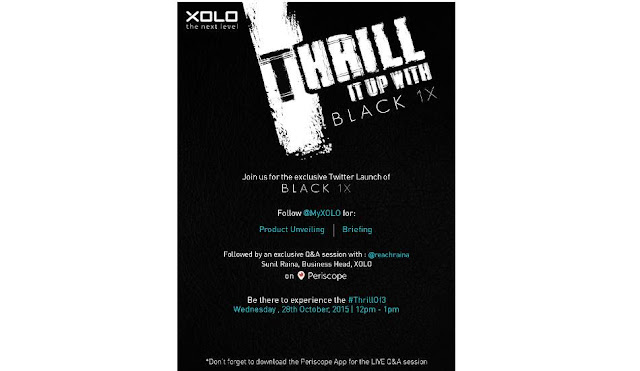 Xolo Black X1 Smartphone Price Rs.12999 in India