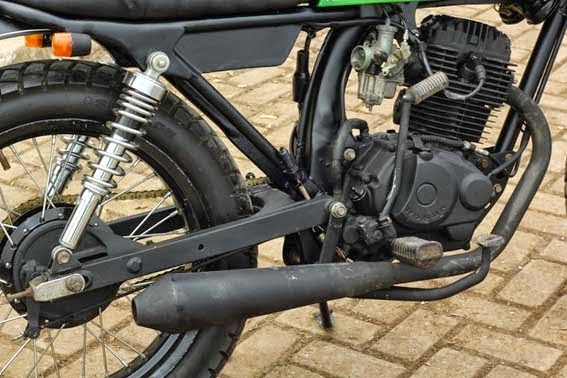 Modifikasi Motor Honda GL Pro