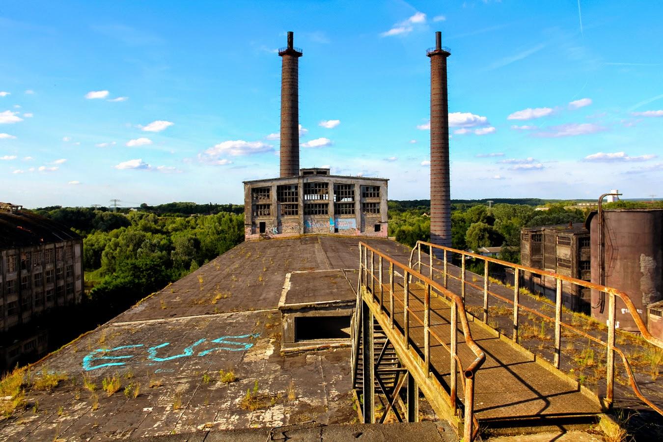 Abandoned Cement Factory : Colossus chemiewerk rüdersdorf abandoned berlin