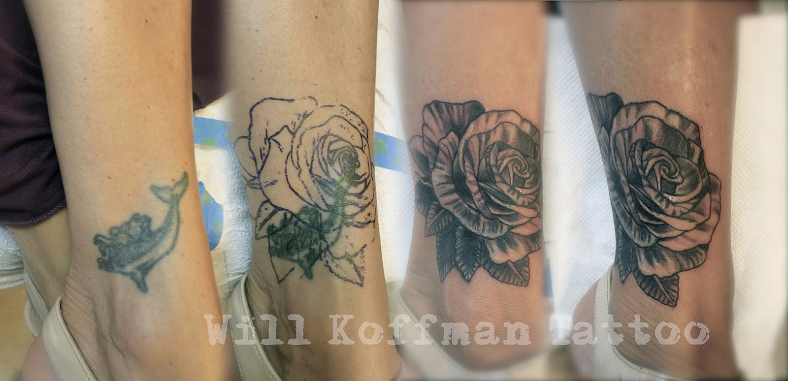 Rose Tattoo Cover UPS