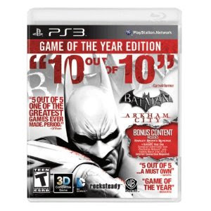 Batman: Arkham City Game of the Year Edition (PS3/XBox)