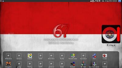 Desktop Kimux Blankon Rote 8.0