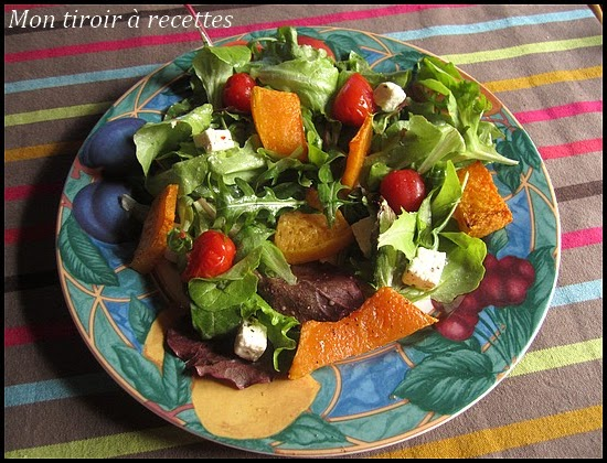salade composée potiron