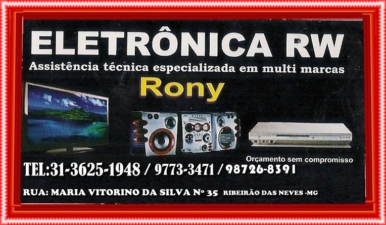 ELETRONICA RW VENEZA RIBEIRÃO DAS NEVES