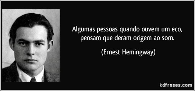 De Ernest Hemingway para Lula