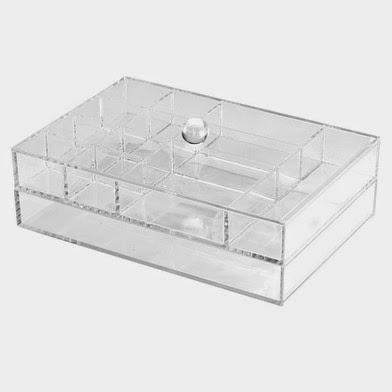 Caja doble de metacrilato