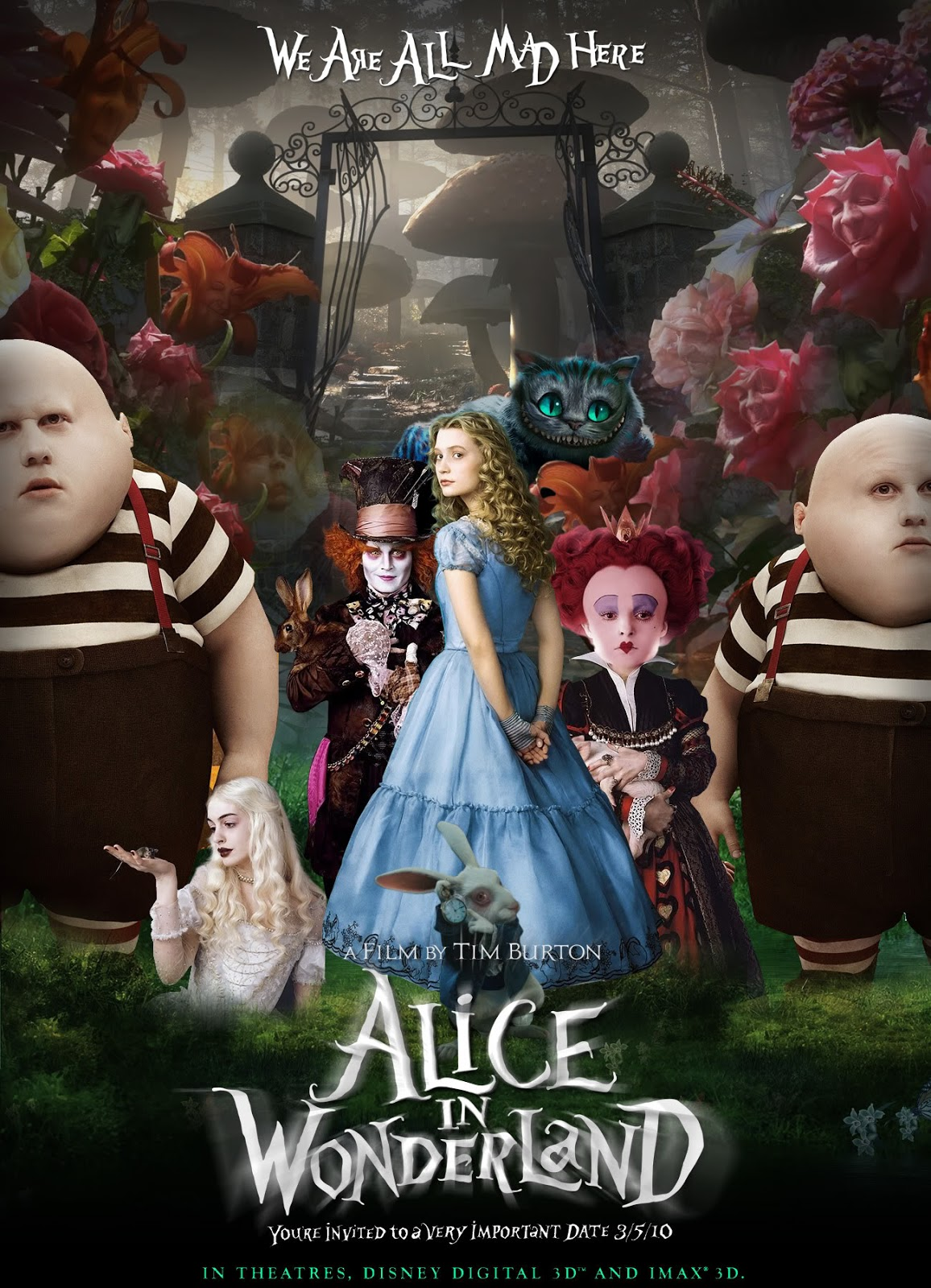 Alice in WonderlandOriginal Alice In Wonderland Movie Characters
